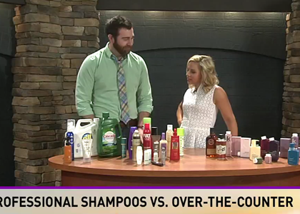 Professional Shampoos vs. Over The Counter-Grow Knoxville Hair Salon